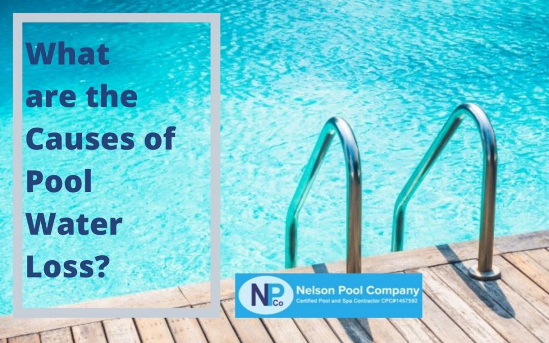 What are the Causes of Pool Water Loss?