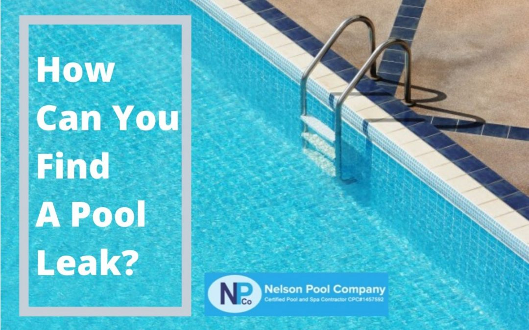 How Can You Find a Pool Leak?